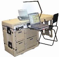 Tactical Field Office with Global UPS, Task Lighting and Notebook Powerstation